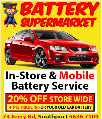 Battery Supermarket Southport