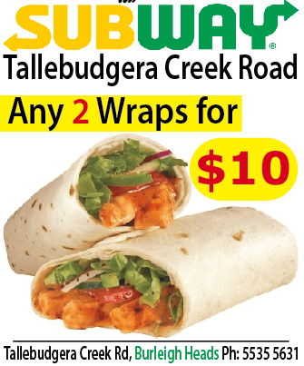 Subway Tallebudgera Creek Rd Burleigh Heads