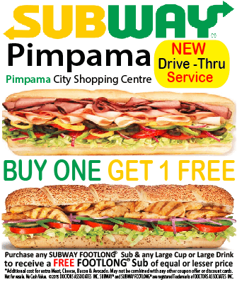 Subway Pimpama