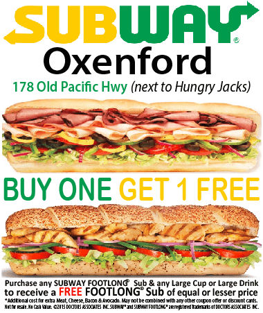 Subway Oxenford