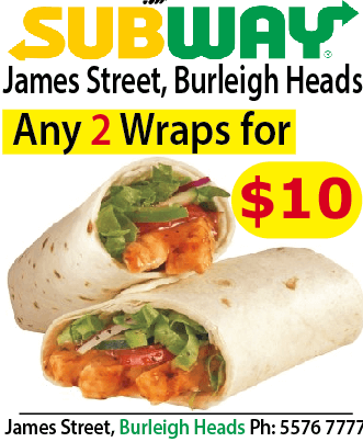Subway James St Burleigh Heads