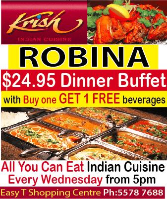 Krish Indian Robina