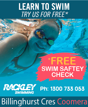 Rackley Swimming Coomera