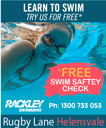 Rackley Swimming Helensvale