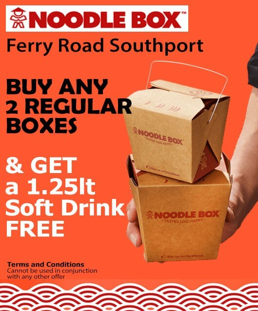 Noodle Box Ferry Road Southport